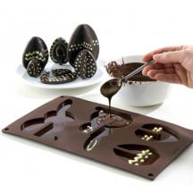 Lekue 3D paashaas en eitjes maken