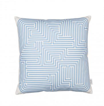 Vitra Graphic Print kussen Maze blauw