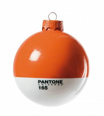Pantone Universe kerstbal oranje