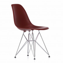 Vitra Eames Plastic Chair DSR oxide rood