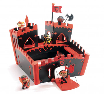 Djeco Arty Toys Ze Red Castle