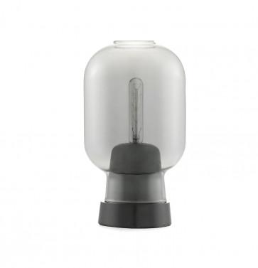 Normann Copenhagen Amp tafellamp smoke/zwart