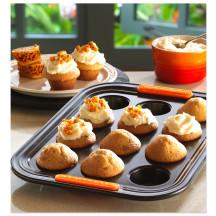 Le Creuset Pâtiliss bakvorm voor 12 mini-muffins