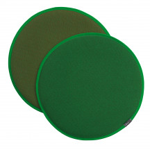 Vitra Seat Dot klassiek groen/bosgroen - klassiek groen/cognac