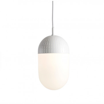 Woud Dot Pendant large wit