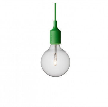 Muuto E27-lamp groen