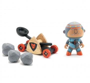 Djeco Arty Toys Baldy & Big Paf