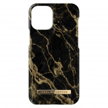 iDeal of Sweden iPhone 12/iPhone 12 Pro Case golden smoke marble