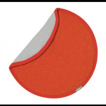 Vitra zitkussen Seat Dot rood/oranje