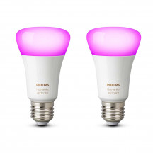 Philips Hue White & Color Ambiance E27-lampen duopak