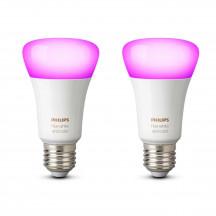Philips Hue White & Color Ambiance E27-lampen duopak