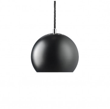 Frandsen Lighting hanglamp ball mat zwart