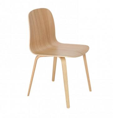 Muuto Visu Chair Wood Frame fineer eik