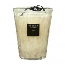 Baobab geurkaars white Pearls max 24
