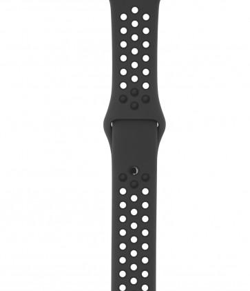 Apple Watch sportbandje van Nike antraciet/zwart