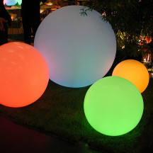 Slide Design Globo LED