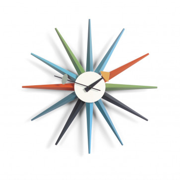 Vitra Sunburst Clock multicolor