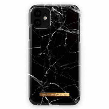 iDeal of Sweden Case iPhone 11 black marble