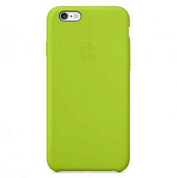 Apple iPhone 6 Plus silicone case groen