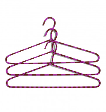 HAY Cord Hanger Stripe fuchsia