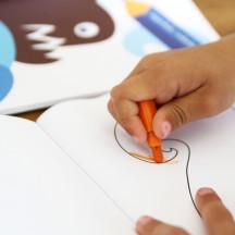 Blafre teken- en kleurboek vis