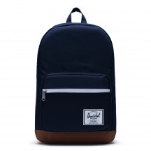 Herschel rugzak Pop Quiz peacoat/saddle brown