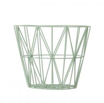Ferm Living Wire Basket large munt