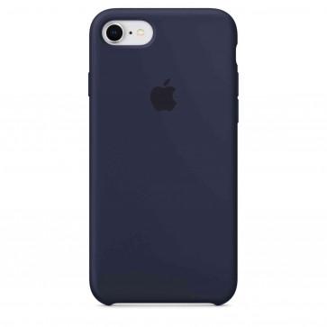 Apple iPhone 8/7 siliconenhoesje middernachtblauw