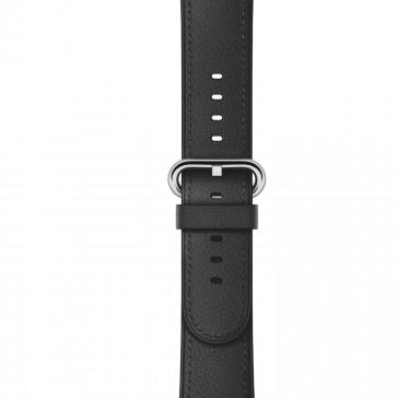 Apple Watch zwart bandje klassieke gesp