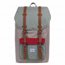 Herschel rugzak Little America kaki/shadow/brick
