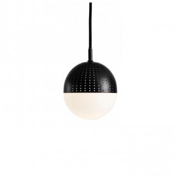 Woud Dot Pendant small zwart