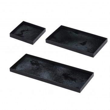 Notre Monde Charcoal mini-trays