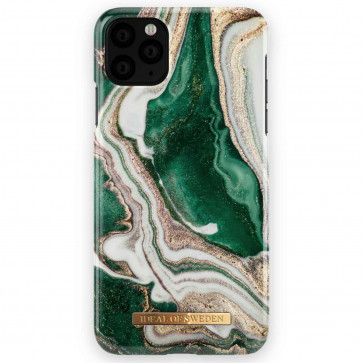 iDeal of Sweden Case iPhone 11 Pro Max golden jade marble