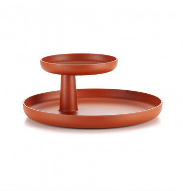 Vitra Rotary Tray baksteen (rood)