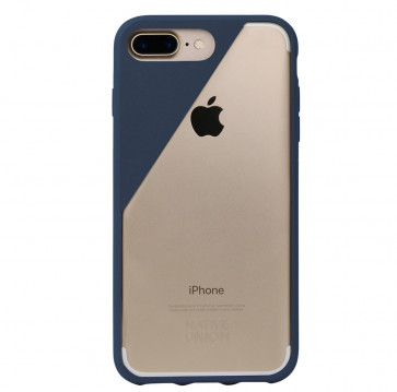 Native Union Clic Crystal iPhone 7 Plus marineblauw