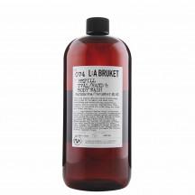 L:A Bruket 074 vloeibare zeep refill komkommer munt
