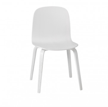 Muuto Visu Chair Wood Frame wit