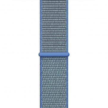 Apple Watch Geweven sportbandje tahoe-blauw