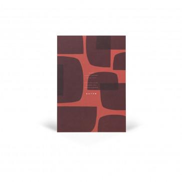 Notem Studio Notepad Jo rood