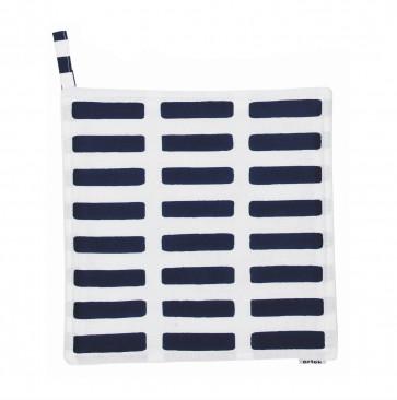 Artek Siena pannenlap wit/blauw