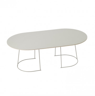 Muuto Airy coffee table large grijs