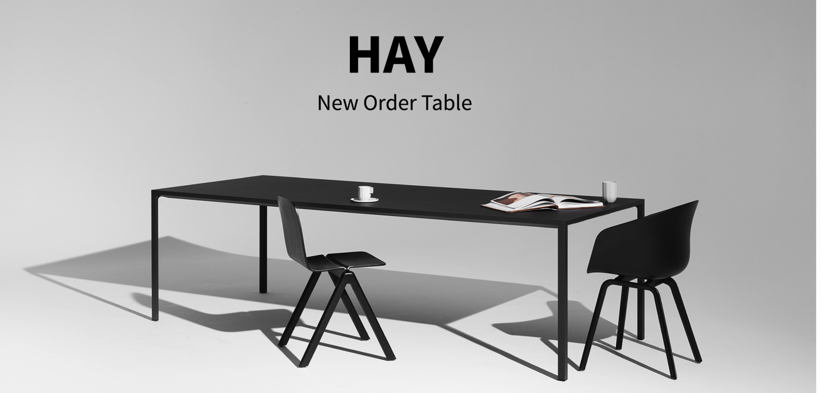 hay new order table. Black Bedroom Furniture Sets. Home Design Ideas