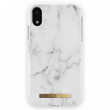 iDeal of Sweden Case iPhone XR white marble
