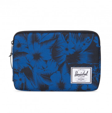 Herschel Anchor sleeve 12-inch MacBook Jungle Floral Blue
