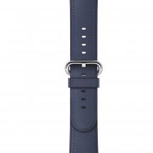 Apple Watch middernachtblauw bandje klassieke gesp