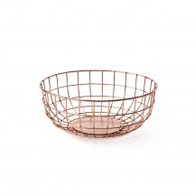 Menu Norm Wire Bowl copper
