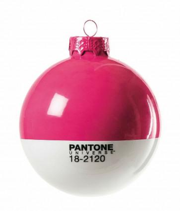 Pantone Universe kerstbal fuchsia