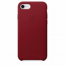 Apple iPhone 8/7 leren hoesje PRODUCT(RED)