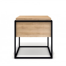 Universo Positivo Monolit Side Table medium zwart