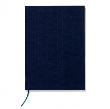 Vitra Notebook A4 Graph navy/blauw